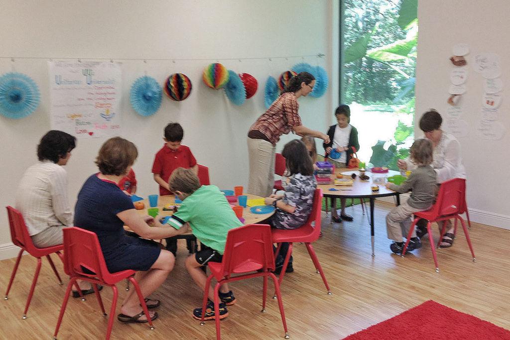 Children at work in Religious Exploration
